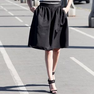 Express high waisted skirt